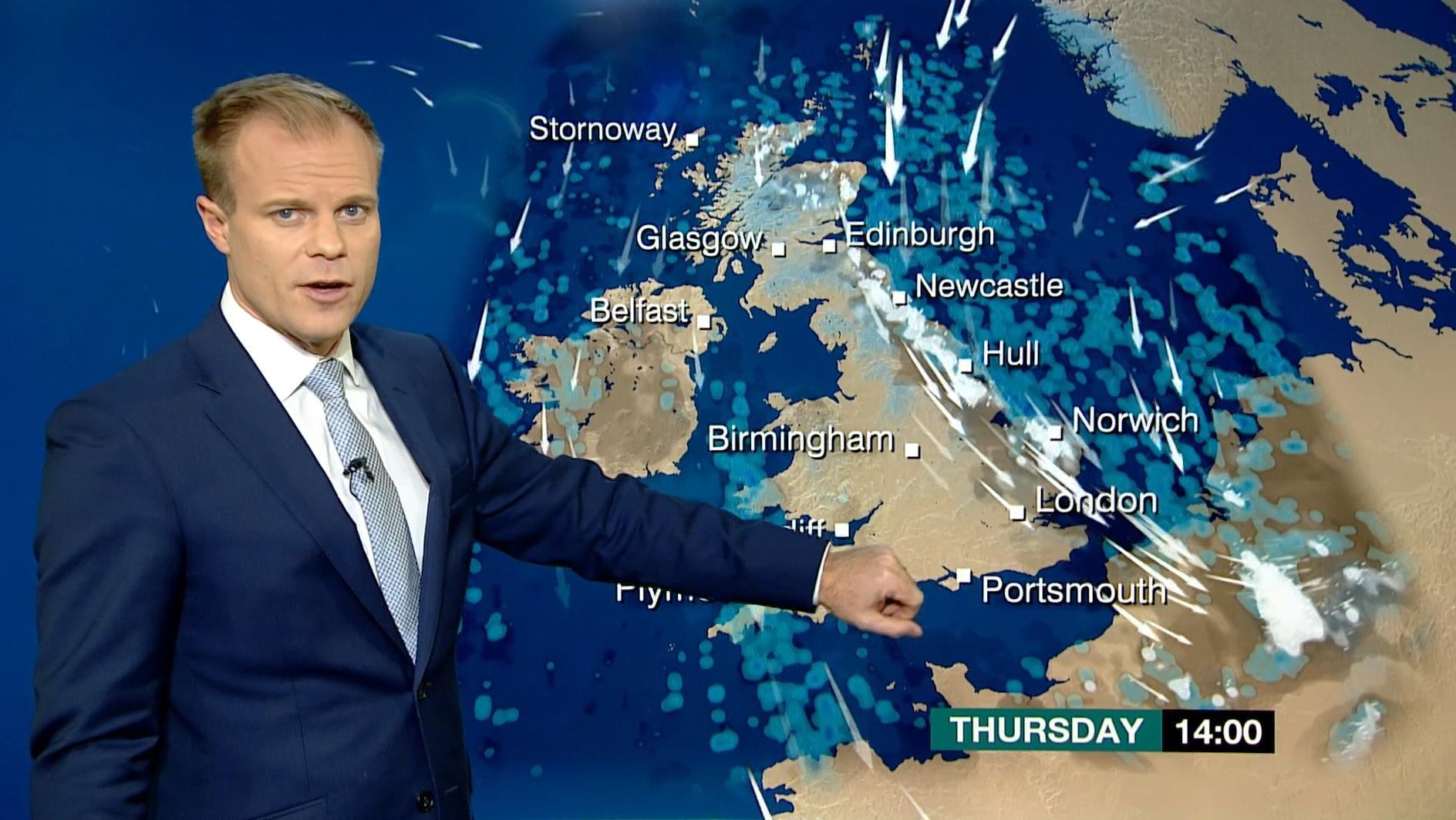 Simon King - BBC Weather Presenter (5)