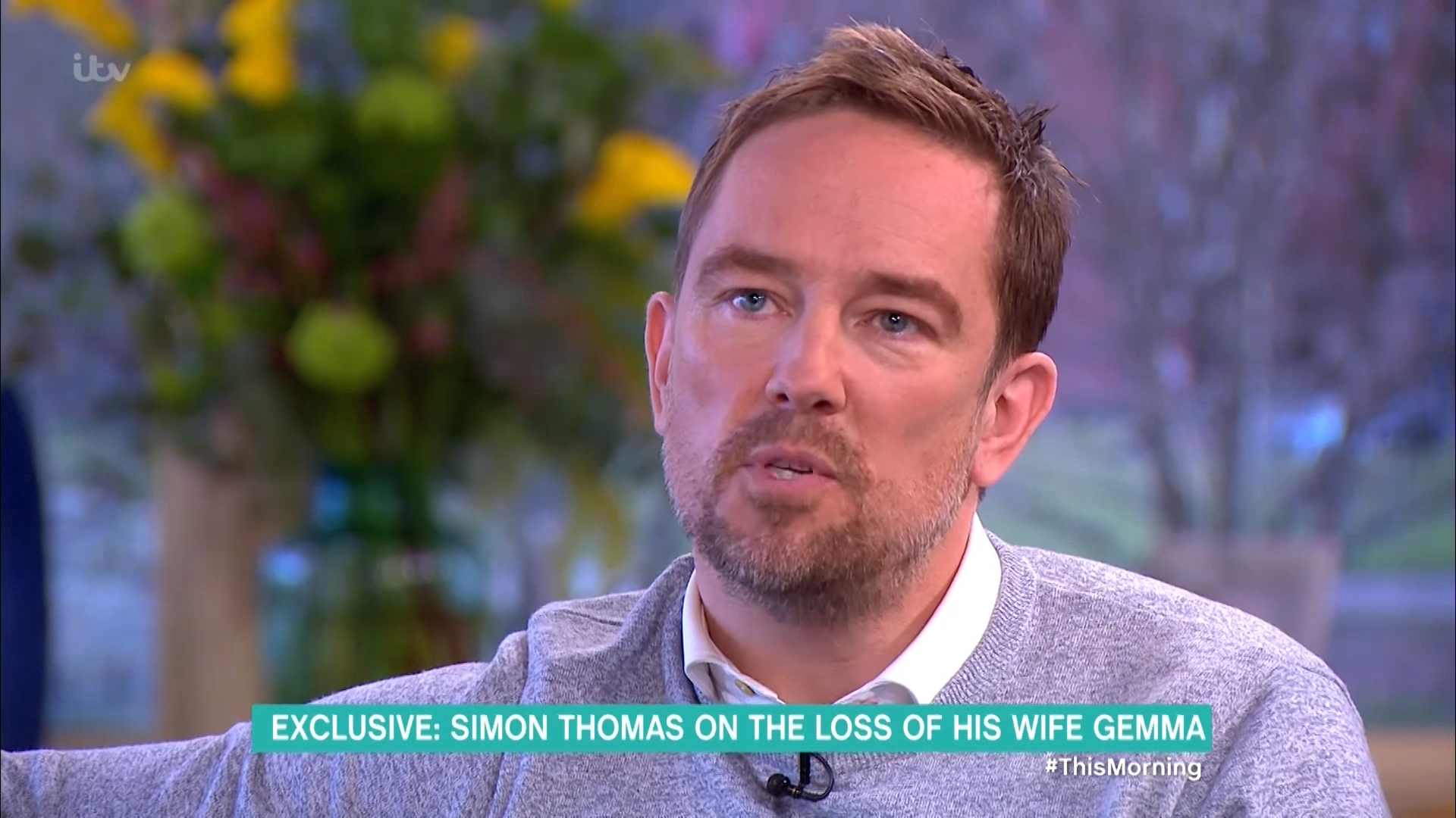 Simon Thomas recalls death of wife Gemma on 'This Morning' in heartfelt interview