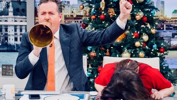 Piers Morgan signs two year contract with Good Morning Britain