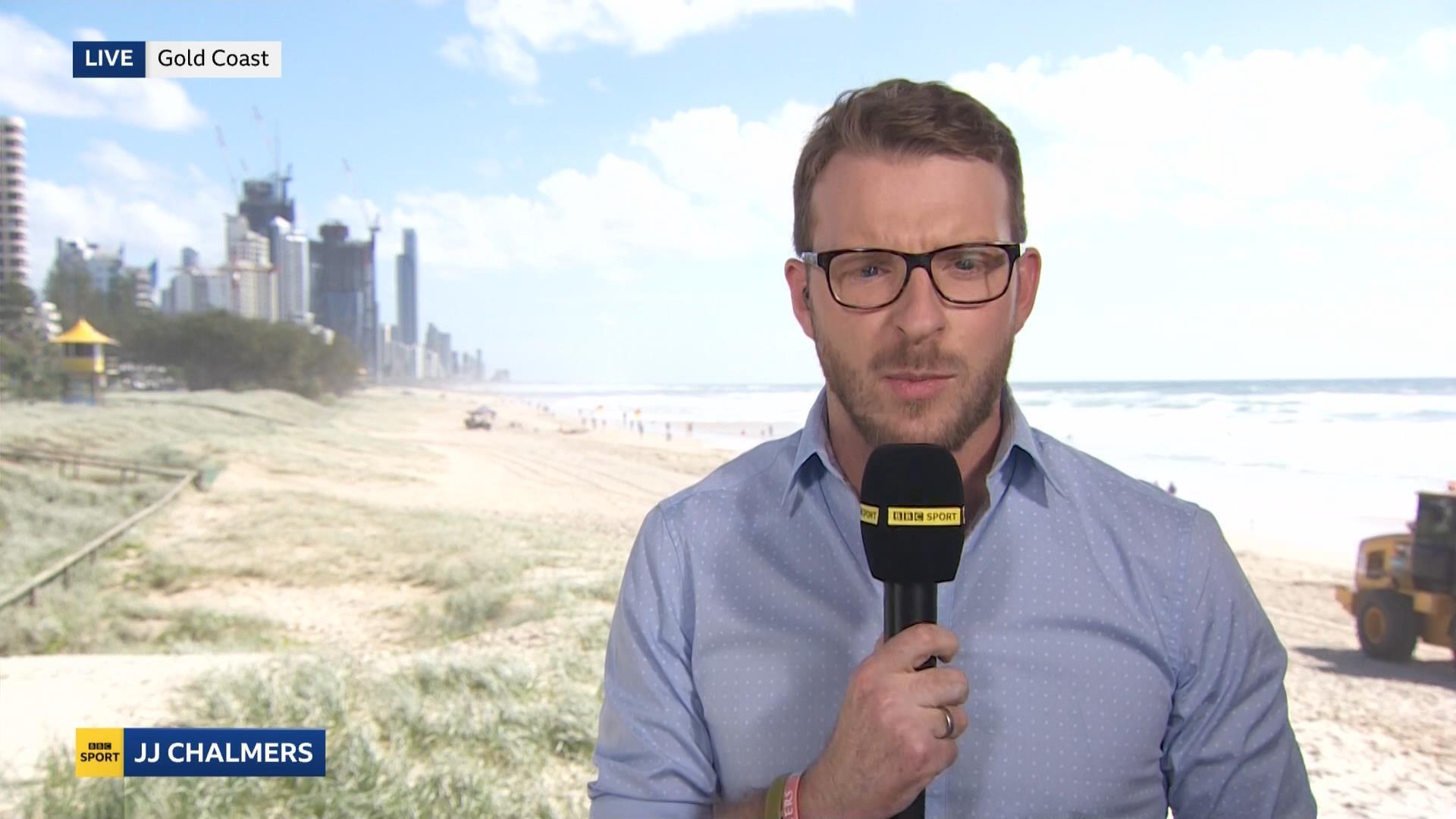 John-James JJ Chalmers - BBC Sport Presenter - Commonwealth Games 2018 (1)