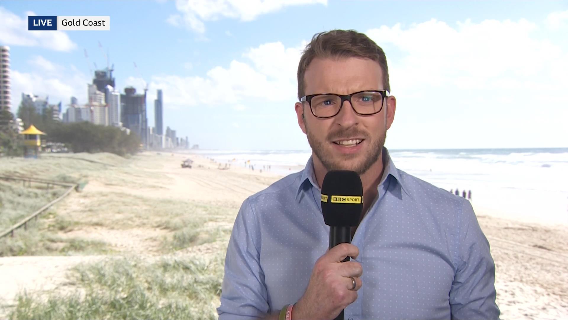 John-James JJ Chalmers - BBC Sport Presenter - Commonwealth Games 2018 (2)