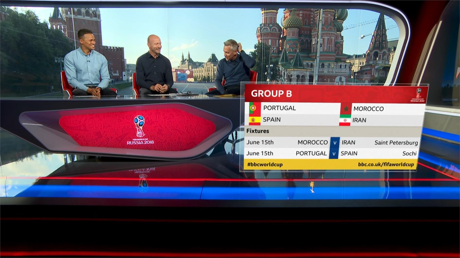 Portugal v Spain – World Cup 2018 – Live TV Coverage on BBC One