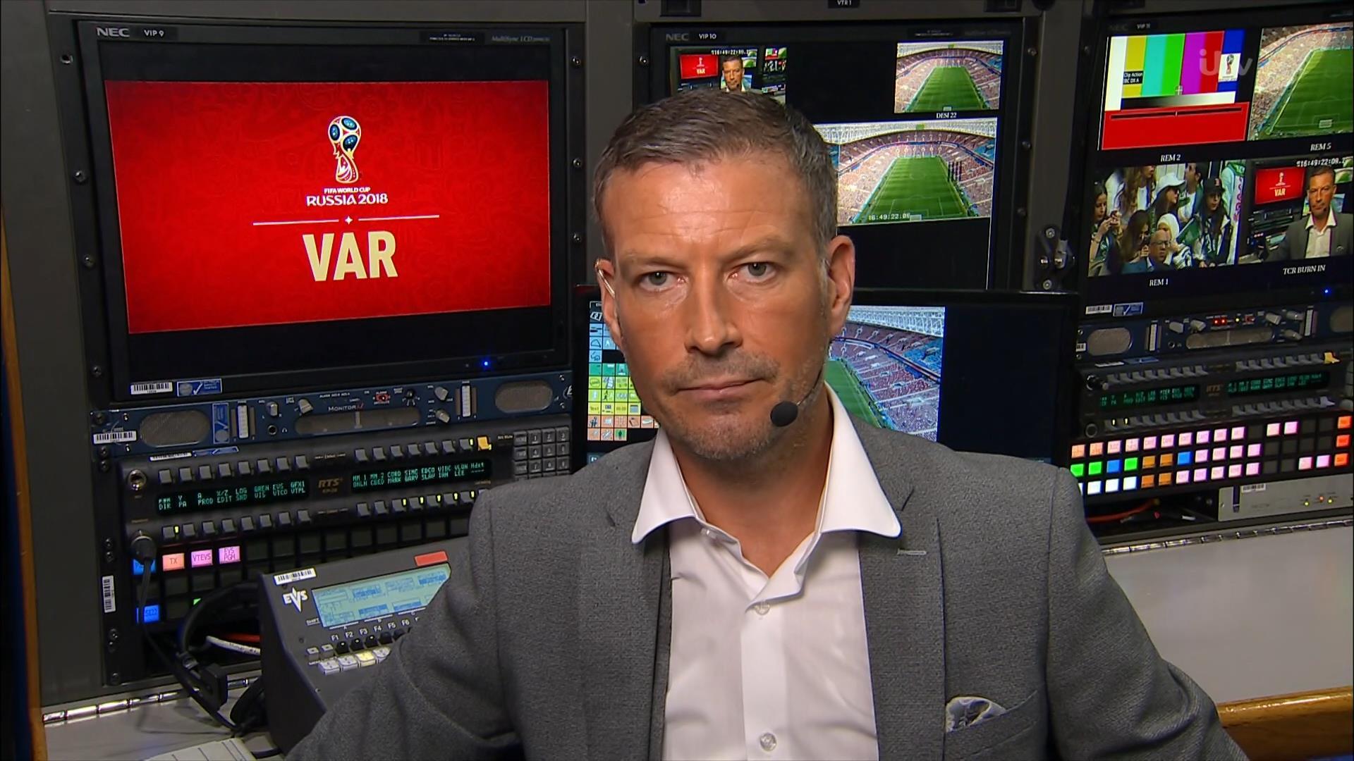 Mark Clattenburg - ITV World Cup 2018 (1)
