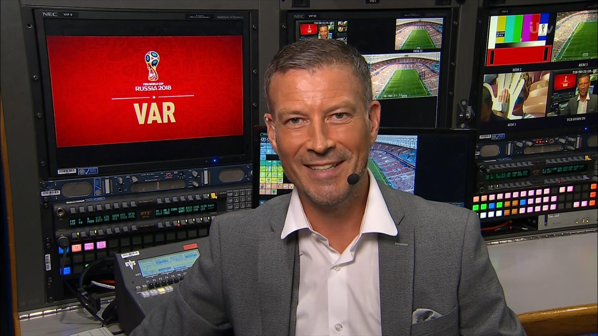 Mark Clattenburg - ITV World Cup 2018 (2)