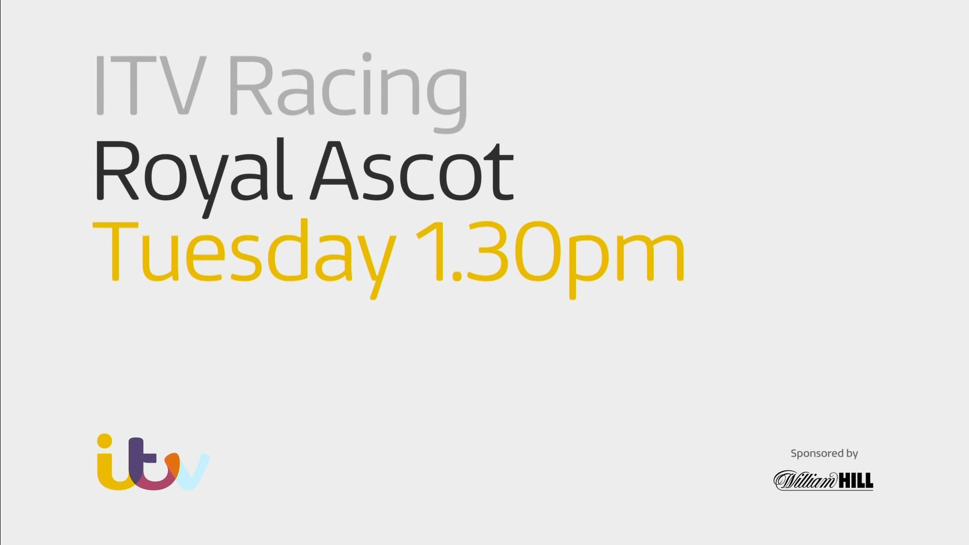 Royal Ascot 2018 – Horse Racing – Live TV Coverage on ITV & ITV4