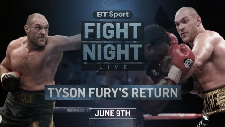 Tyson Fury v Sefer Seferi – Boxing – Live TV Coverage on BT Sport