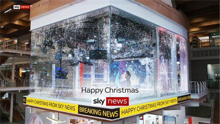 Happy Christmas – Sky News Promo 2018