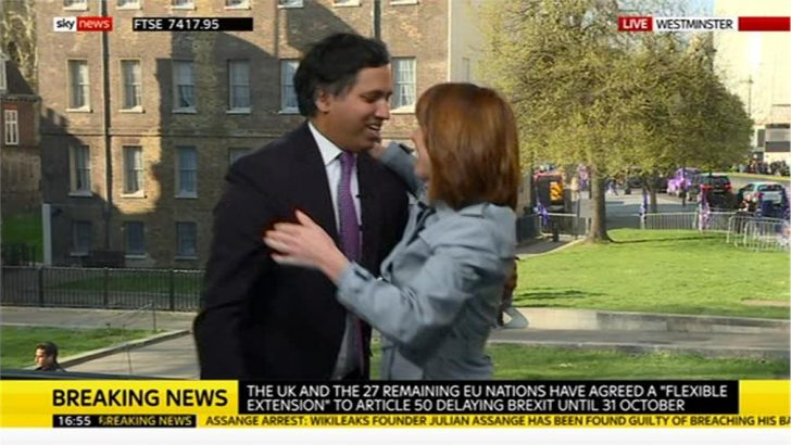 Kay Burley – Sky News says goodbye Faisal Islam 04-11 18-49-02