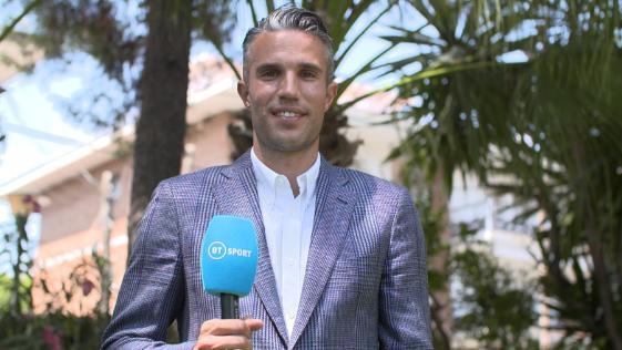 Robin van Persie joins BT Sport as football pundit